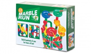 Tobar Marble Run Construction Toy (74-Piece)