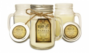Mason Jar Fragranced Candles