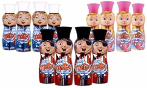 Pack of 4 Matey Kids Bubble Bath Adventurers 500ml