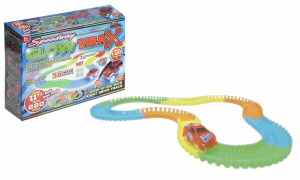 Magic Glow Race Track With Light Up Racing Car