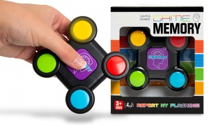 Try Me Sound And Light Memory Game - Battery Operated
