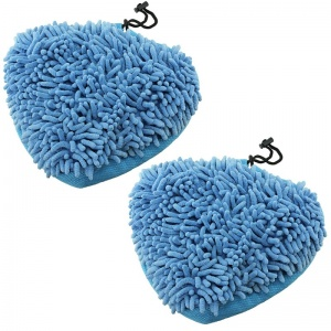 Microfibre Coral Mop Pads for Vax Steam Cleaners 2 Pack