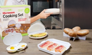 Easy Cook Microwave Cooking Set