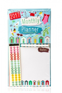 Monthly Planner Pen with Stickers