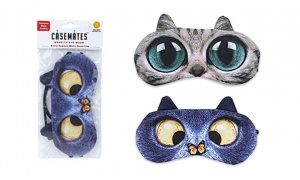 Cat Eye Mask with 2 Asst designs