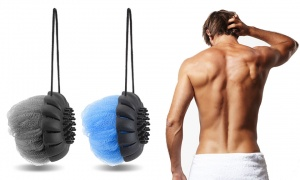 MR. Massaging Loofah Ball On Loop Rope - Assorted