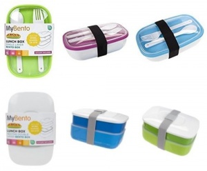 MyBento Lunch Boxes with Cutlery