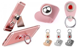 Ball Design Magnetic Car Mount with Clip - Apple Colours