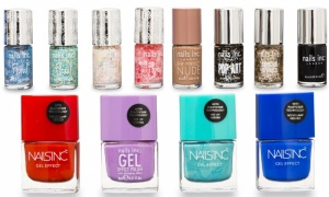 NAILS INC NAIL POLISHES -  PACK OF 5 (Assorted)