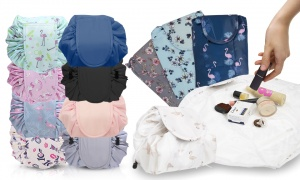 Cosmetic Drawstring Bag Pouch Bundle