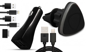 Car charging Travel set