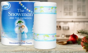 Nicky Snowman Kitchen Towel