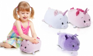 30cm So Soft Unicorn Squishy Roly Poly with Assorted Colours