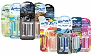 Refresh Your Car 4Pk Vent Stick Air freshner
