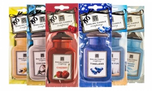 English Candle Company 2D Car Air Freshener