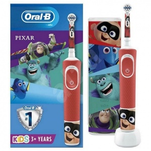 Oral-B Kids 3+ Pixar Electric Toothbrush Giftset with Travel Case