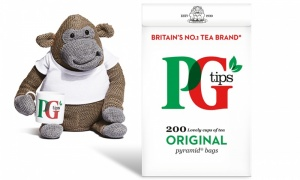 PG Tips Special Edition Gift Set with 200 Teabags & Monkey