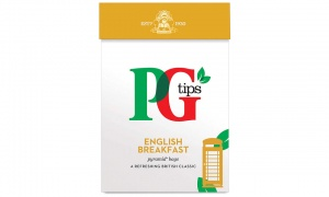 PG Tips English Breakfast Pyramid Tea Bags