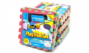 9 Piece Coloured Foam Play Mat Set