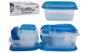 30PC Reusable Food Storage Containers