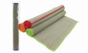 Straw Beach Mat Assorted colour cloth edge