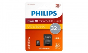 Philips Micro SDHC Cards