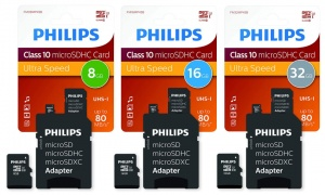 Philips Micro SDHC Class 10 Memory Card