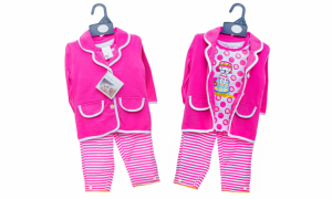 Pitter Patter 3 Piece Baby Clothing Set