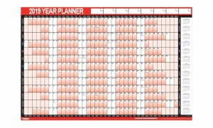 Wall Planner - 2019