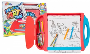 RMS Portable Art Desk Set