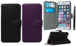3 in 1 Premium Executive Wallet Case for iphone 6-6 Plus