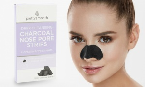 Pretty Nose Pore Charcoal strips