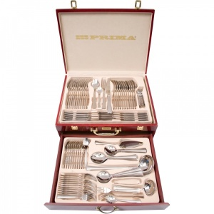 Stainless Steel 18/10 95 Piece Canteen of Cutlery