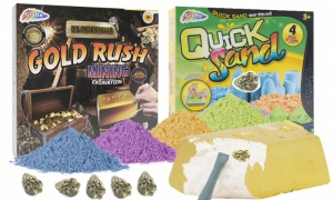 RMS Quick Sand Set With Gold Rush Mining Excavation