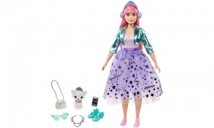 Barbie® Princess Adventure™ Daisy Doll with Pet Toy