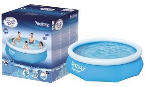 Bestway Fast Set Swimming Pool Above Ground Blue Inflatable 10ft x 30'', 3800L