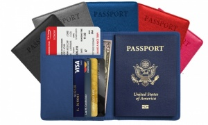 Passport Holder Wallet Cover Case