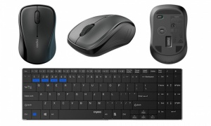 Rapoo 9060M Multi-Mode Wireless Keyboard and Mouse Black