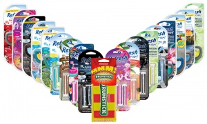 Refresh Auto Vent Sticks Car Air Freshener Bundle