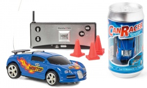 Tobar Remote Control Can Racer Blue