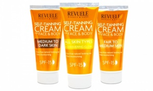 Revuele Self-Tanning Cream for Face and Body
