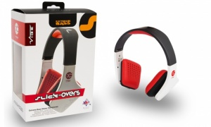 Vibe Fli On Ear Extreme Bass Stereo Headphones with Mic