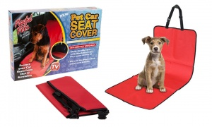 Single Front Seat Pet Car Seat Cover