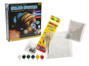 Solar System Moulding Set With Moulds and Paints