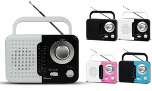 SZ412BT - SoundZ AM/FM Bluetooth Radio