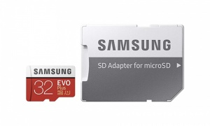 Samsung 32GB 95MB/s Memory Evo Plus Micro SD Card with adaptor