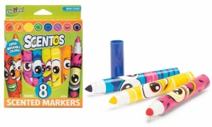 Tobar Scentos Funny Face Markers 8pk