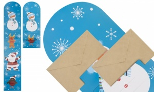 Set Of 2 Jumbo Christmas Card Hangers