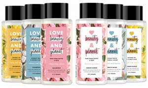 Love Beauty Planet Shampoo and Conditioner 400ML.