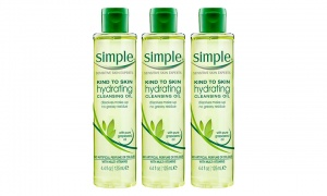 Simple Kind To Skin Hydrating Cleansing Oil 125Ml Pack of 3